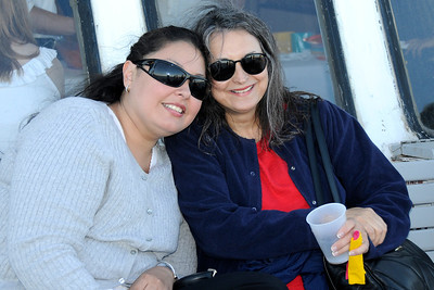 Elissa with her daughter Beatrice.