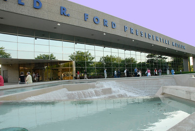 Gerald R. Ford Presidential Museum in Grand Rapids, MI.