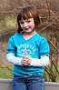 Megan, on Grandpa Jim's deck, March 09.