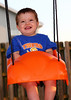 My son, the swinger.
