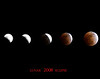 The moon, shot in 5 separate frames, combined into one in Photoshop.