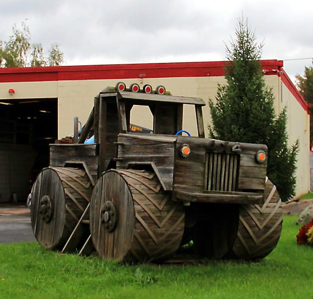 Wooden Monster Truck!