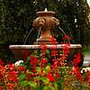 A lion fountain