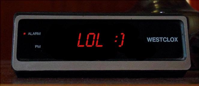 Sarcastic Alarm Clock