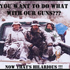 Me and a couple of my friends have a message for all of you gun control freaks!!!<br /> <br /> This image was scanned from a 4x6 kodak picture from many years ago.