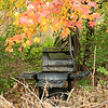 Abandoned outdoor grill
