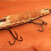 A few of my grandfather's lures used on many fishing trips to Canada. Northern Pike ripped almost all the finish off of these Creek Chub Pikies over many years!
