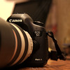 My new Canon 5D MARK III. Photographed with a Rebel T3i.