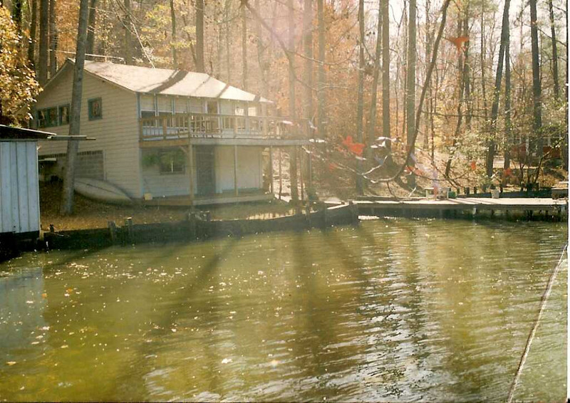 Cabin on Warrior River - Cabin on Warrior River where the Reynolds children learned to swim.