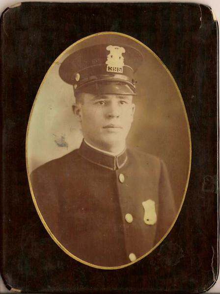W.O. Reynolds Sr in Chicago PD Uniform - W.O. Reynolds Sr in his Chicago Police Uniform