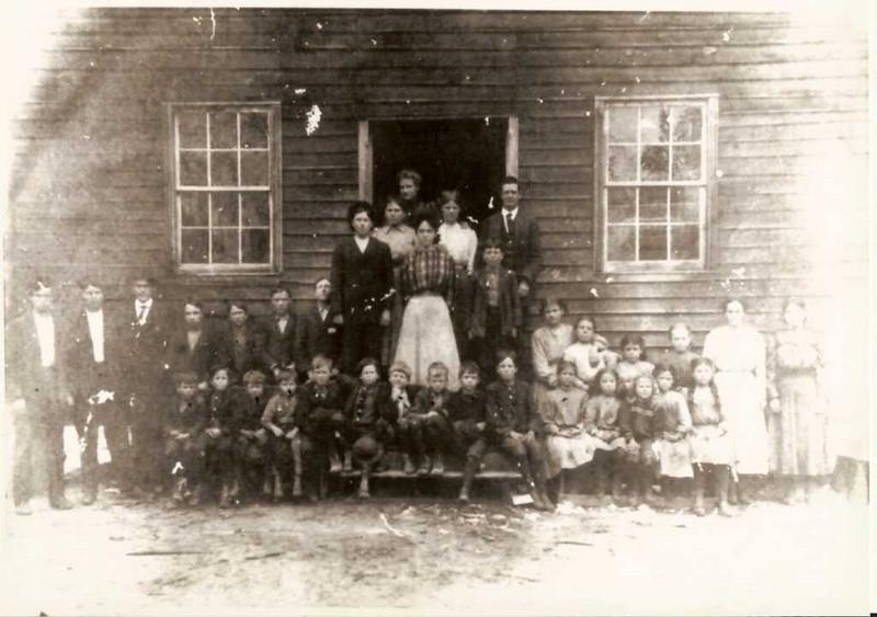 WO Sr in school - Dan\'s grandfather (father\'s father) in grade school somewhere in photo.