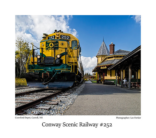 Conway Scenic Railway #252