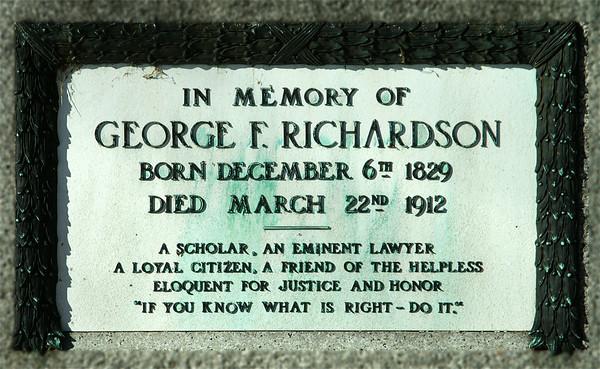 George F Richardson