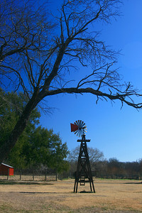 Windmill at Samual Farms Park, Sunnyvale, Texas