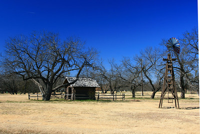 Boy Scout cabin, Samual Farms, Sunnyvale, Texas