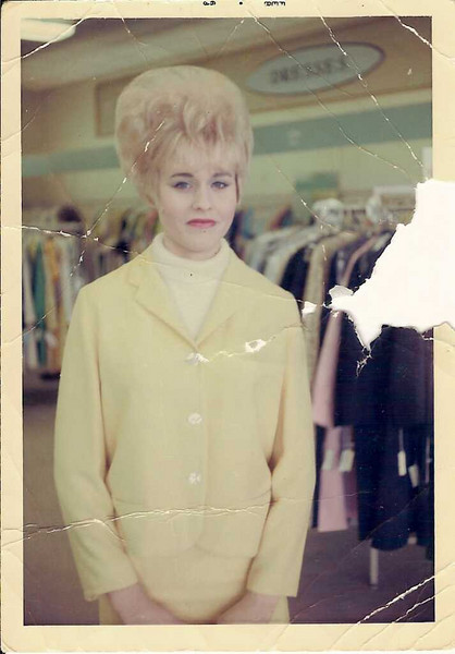 Jane Emery - Jane at work in Fashion Department Store in Atlanta