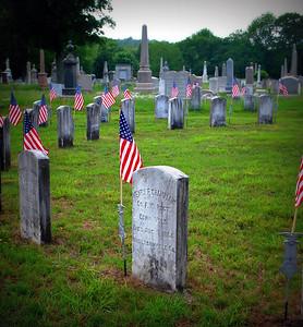 Grave marker of Henry F. Champlain, Prisoner at Andersonville, GA