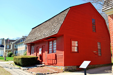 Located at 73 East Town Street, this building was built circa 1773 by Joseph Carpenter II, a clockmaker and goldsmith. It is thought to be the only wooden silversmith/goldsmith structure still surviving in New England.