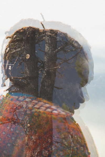 Rasta Double Exposure
