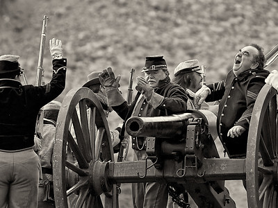 Calico Civil War Re-enactment