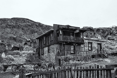 Hanks Hotel in Calico Ghost Town