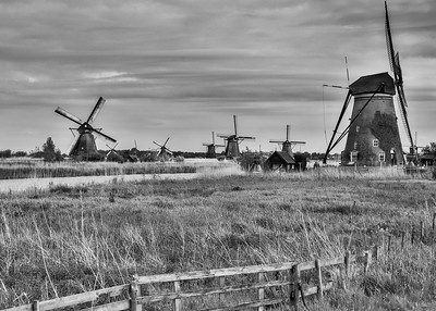 Kinderdijk, Holland Windmills