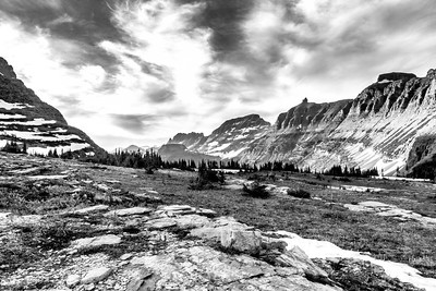 Glacier Nation Park at Logan Pass
