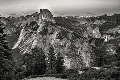 Half Dome from Gacier Point Yosemite