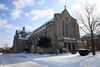 Assumption Grotto Parish on December 21, 2008 around Noon.  About 2 inches of fresh snow coated a recent snowfall of about 8 inches.