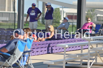 Assumption at Central DeWitt baseball (7-20-15)
