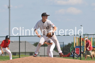 Assumption at Clinton baseball G2 (6-27-25)