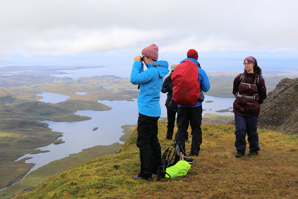 On Cul Mor's second summit