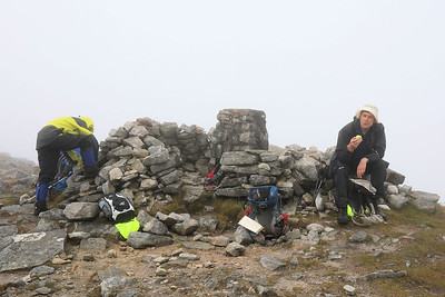 Sunday 20 August - At Cul Mor summit