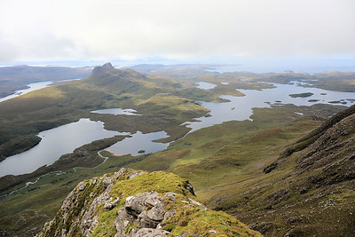 Over towards Stac Pollaidh