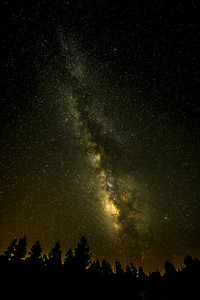 Milky Way from the western flanks of the San Francisco Peaks.