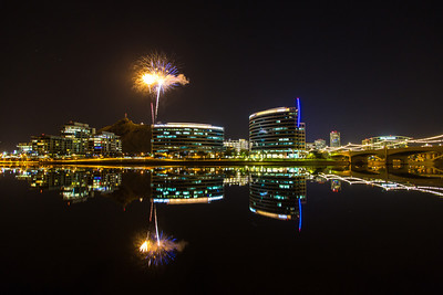 New Years Eve at Tempe Town Lake, AZ