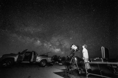 Sentinal viewing area west of Gila Bend, AZ
