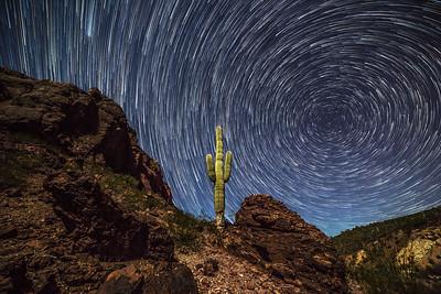 Gila Mountains west of Phoenix, AZ