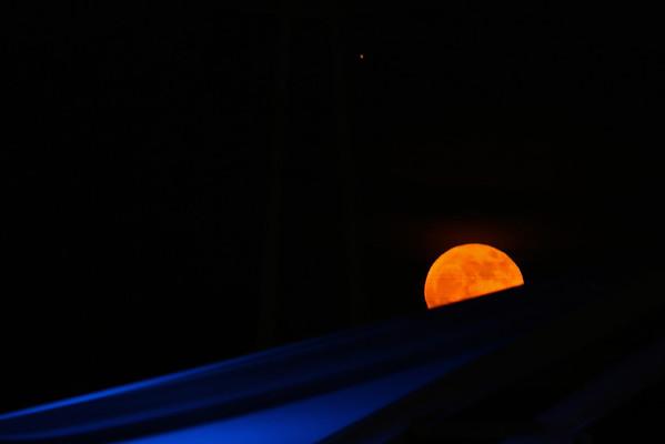 Tempe Town Lake Full Moon 11-18-2012