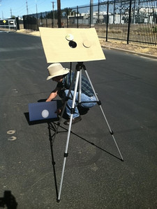 He designed this system for the Annular Ecllipse of May 20, 2012