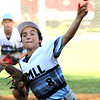 ROBERT GURECKI   -   DFM<br /> Aston Middletown's pitcher Roman Tozzi lets one go against Taney during District 19 Little League play at Aston Mkddletown field, Aston.