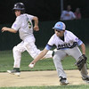 ROBERT GURECKI   -   Digital First Media<br /> Aston Middletown' and Newtown Edgmont face off in the District 19 Little League winner's bracket playoff game, Wednesday July 7.