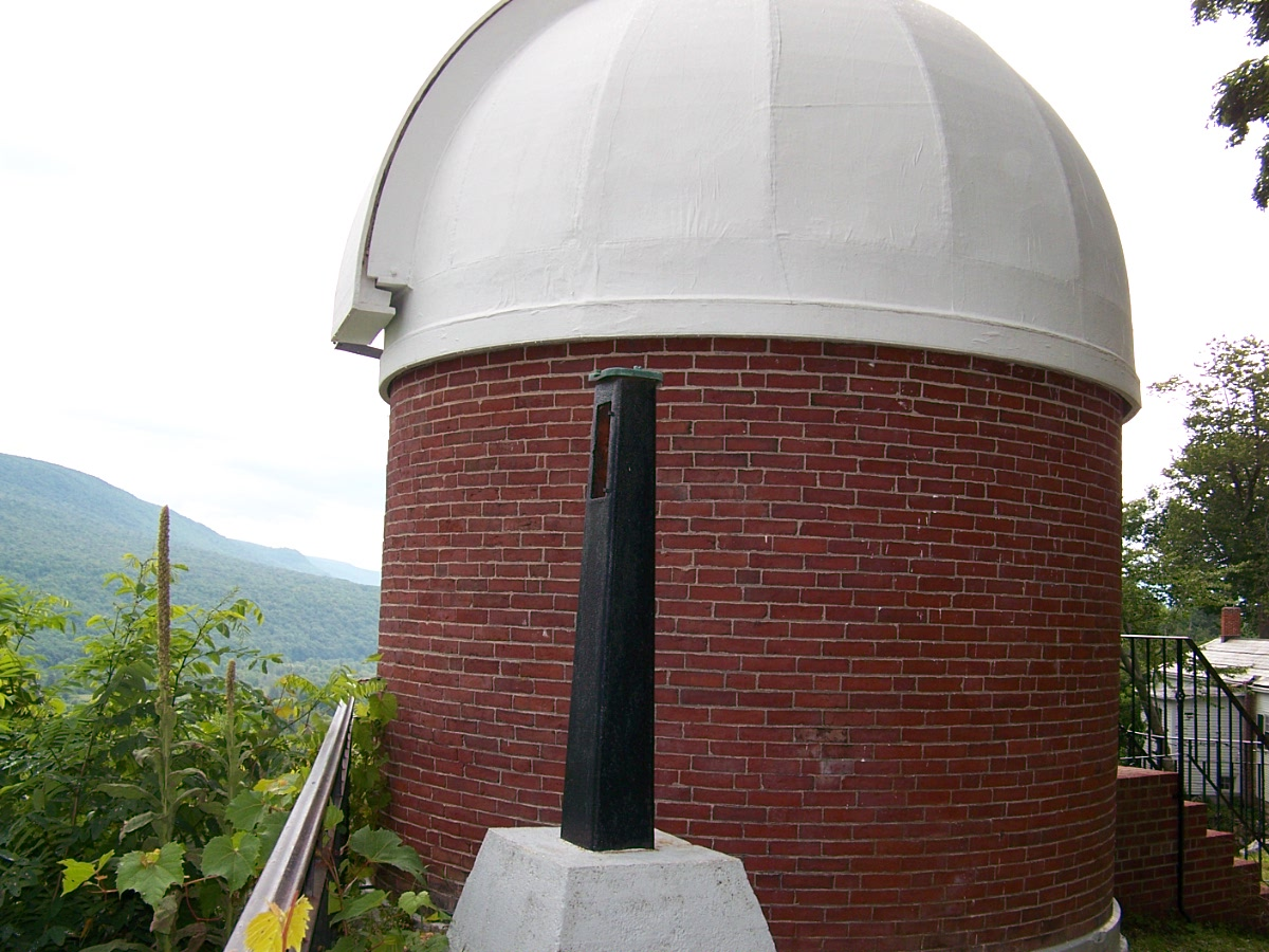 Rear view of the observatory.