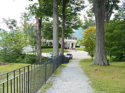 The observatory lie a short walking distance to Hildene - Robert Todd Lincoln's summer home.