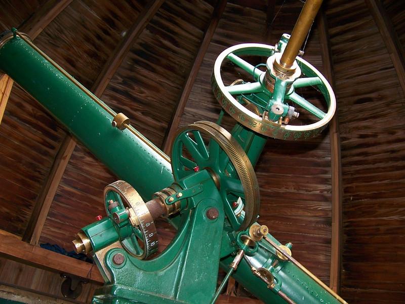 6 inch Brashear refractor - Warner & Swasey Mount.