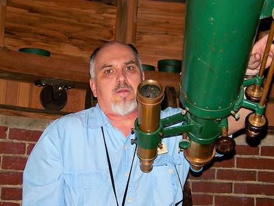 Doughas Haringan - Chairman of the Hildene Astronomy Club.