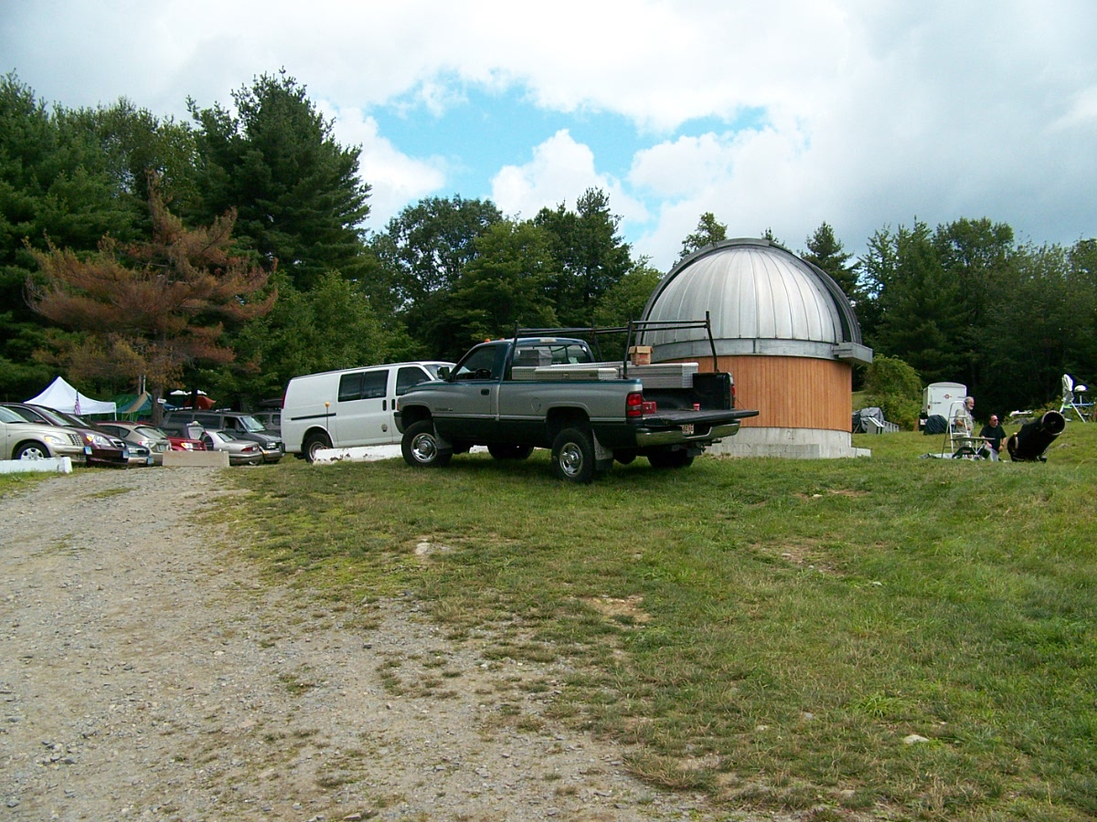 New to Stellafane this year is this observatory that houses a 10 inch RC telescope.