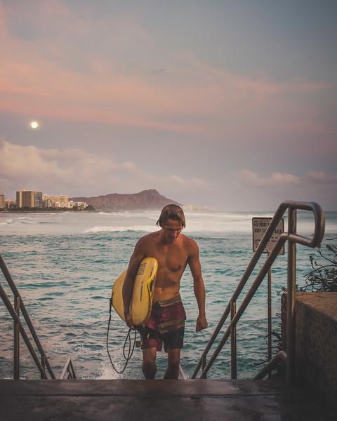 Point Panic Honolulu, Hawaii