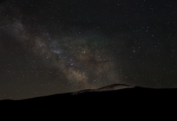 Frankieboy Photography |  Starry Sky and Milky Way At Echo Lake | Mount Evans Colorado