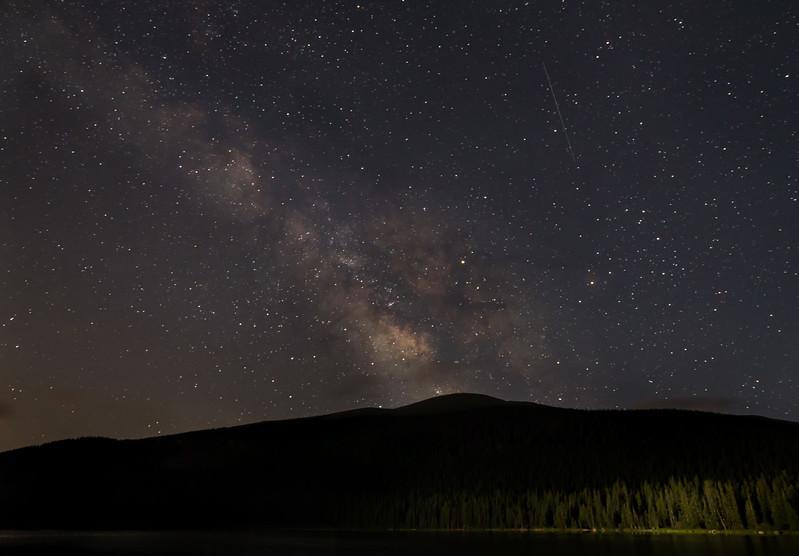Milky Way At Echo Lake | Mount Evans Wilderness Colorado